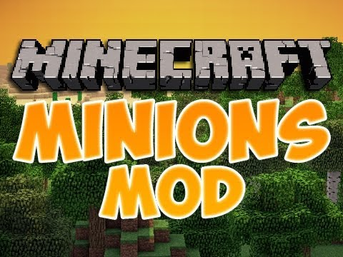 Minecraft Mods | Episode 652 | MINIONS  | iPodmail | 1.3.2