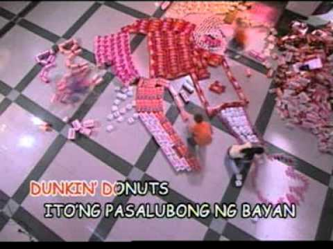 Pasalubong Ng Bayan (dunkin' Donuts Theme Song) Minus-one With Lyrics video