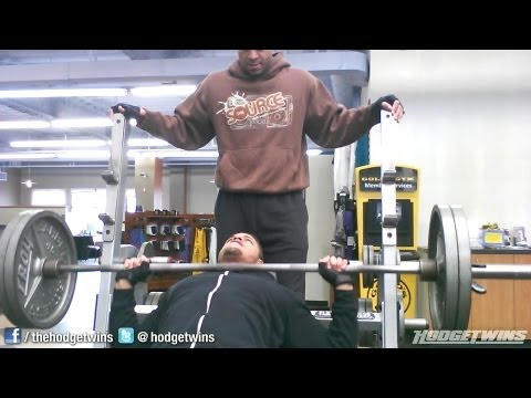 Chest Workout W/ Low Back Work