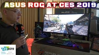 ASUS ROG at CES 2019 - NEW Boards, Coolers, laptops and Monitors !