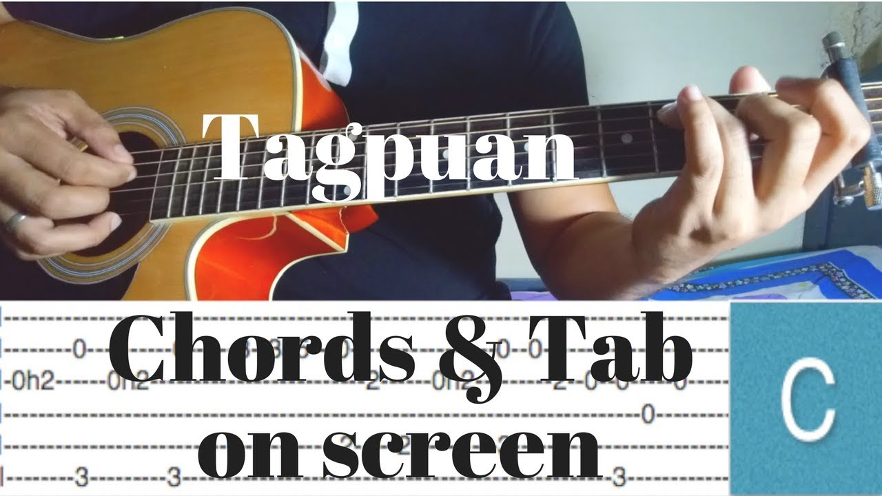 Tagpuan Moira Dela Torre Fingerstyle Guitar Cover Tabs Chords