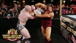 Pete Dunne and Sam Gradwell brawl in the Quarterfinals: WWE United Kingdom Championship Tournament