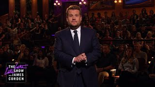 James Corden's Message After Las Vegas Tragedy