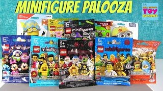 Lego & Mega Construx Minions Blind Blind Toy Review Opening | PSToyReviews