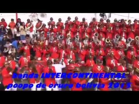 banda INTERCONTINENTAL POOpo de oruro bolivia