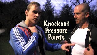 Hit These 5 Points for Knockout & Serious Injury in a Street Fight | Nerve Center Pressure Points