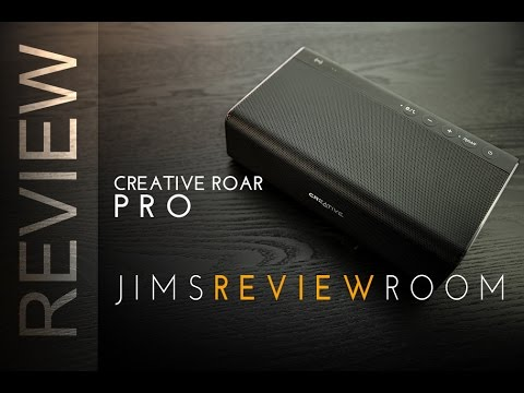 Creative Roar Pro Bluetooth Speaker - REVIEW