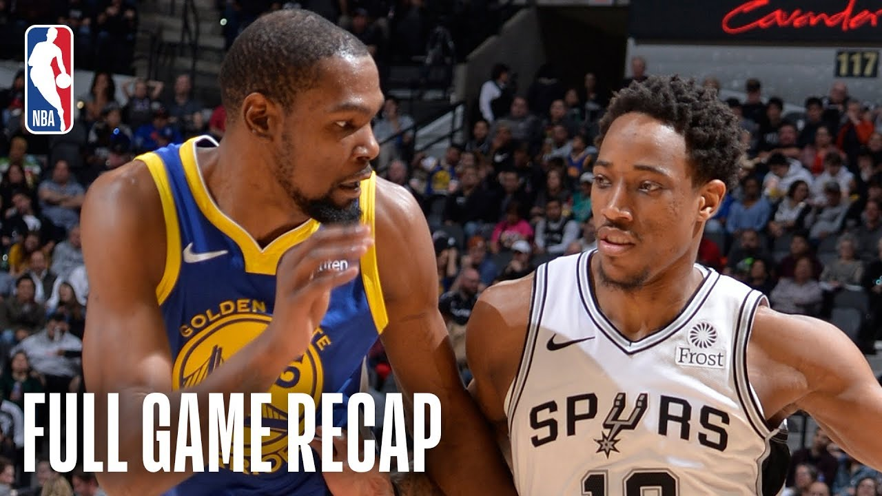 WARRIORS vs SPURS   San Antonio Looks For Their 9th Consecutive Victory    March 18, 2019