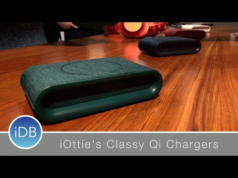 iOttie has Some of the Best Looking Wireless Chargers to Date: CES 2018