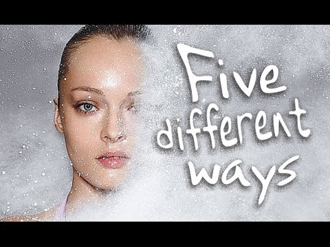5 DIFFERENT WAYS TO POWER YOUR FACE - FOR 5 DIFFERENT EFFECTS