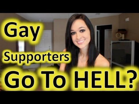 Gay Supporters Go To HELL!