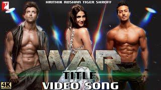WAR Movie Song | Hrithik Vs Tiger Movie | Hrithik Roshan, Tiger Shroff, Hrithik Vs Tiger Trailer