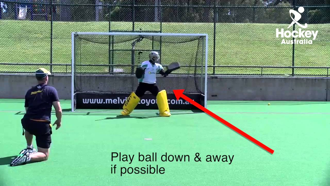 Level 1 Goalkeeping left hand glove save