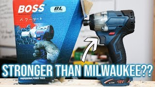 NEW MYSTERY POWER TOOL (The BOSS) UNBOXING!?