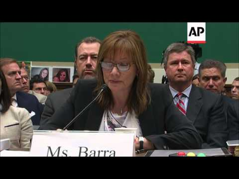 A House subcommittee is hearing testimony Wednesday from GM CEO Mary Barra and attorney Anton Valuka