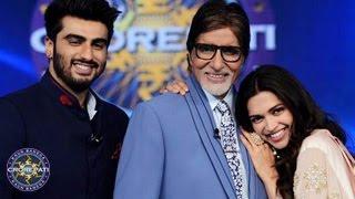 Deepika Padukone & Arjun Kapoor on Kaun Banega Crorepati 7
