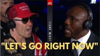 Colby Covington GOES OFF on Kamaru Usman during Post Fight Interview