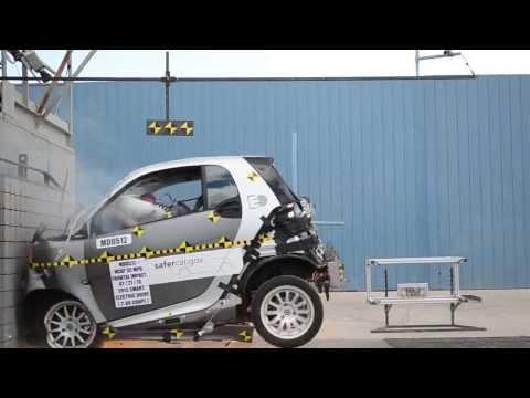 2013 Smart fortwo, краш-тест