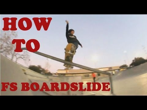 Skateboarding trick tip: How to Frontside boardslide