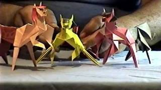 How To Make Origami Centaur Part 2.wmv