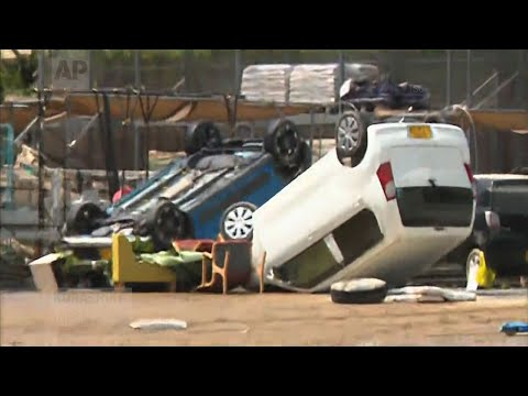 Raw: Rain Storms Kill 100 In Japan