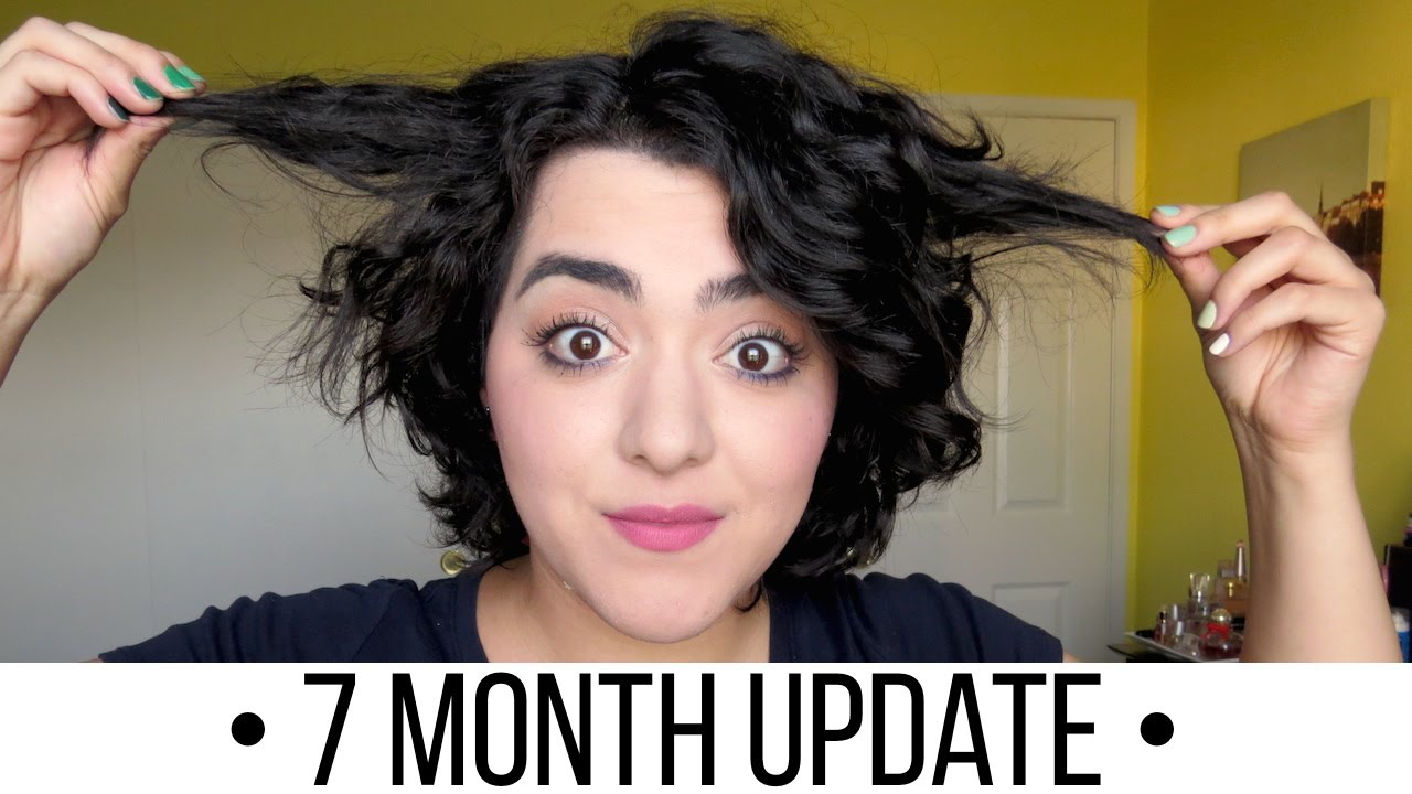Growing Out My Pixie Cut Month 7 Laura Neuzeth Youtube