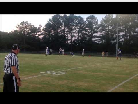 2014 South Robeson High School Football vs West Bladen