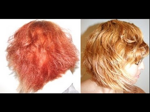 Jo Baz Colour Remover review red to blonde get rid of orange red hair colour remove red hair dye