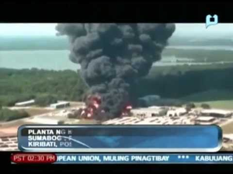 Globalita: Chemical plant sa Louisiana, sumabog; Pacific Island Nation na Kiribati, posible....