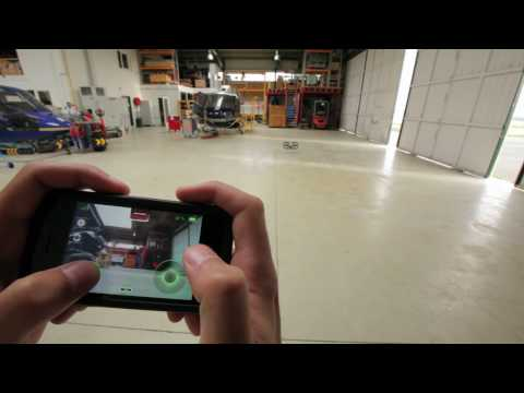 AR.Drone Tutorials #01 : Indoor Flight Instructions