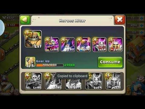 castle clash account transfer