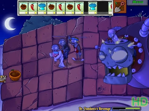 Plants vs Zombies - Dr Zomboss Revenge using only Instants and Flowerpots