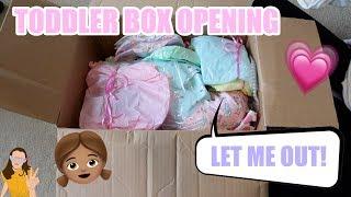 MY TODDLER IS HERE! Reborn Toddler Box Opening! | Kelli Maple