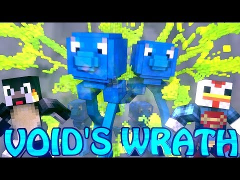 Minecraft Voids Wrath Modded Survival Ep 2 DUNGEON RAID
