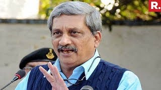 Goa CM Manohar Parrikar Admitted To Lilavati Hospital