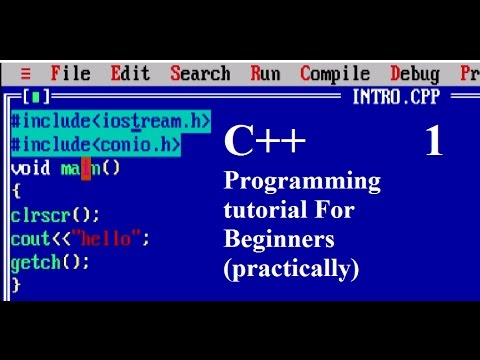 Introduction to C++ : programming languages || Tushar Goel (Practical)