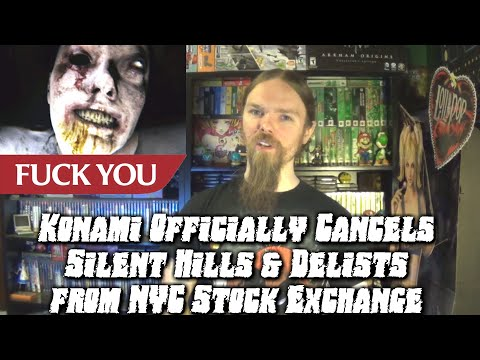 Konami Officially Cancels Silent Hills & Delists from NYC Stock Exchange