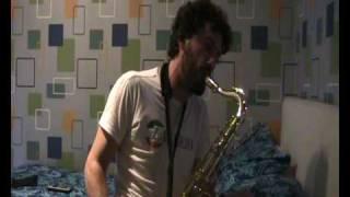 """Nulla sax solo"" - PIERTOMAS DELL'ERBA - tenor saxophone solo - awesome free ambient jazz"
