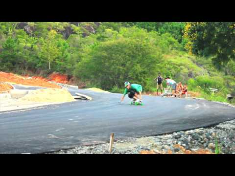Fernando Yuppie Go Longboard Freeride Session 2011