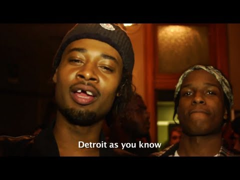 Backstage Access: ASAP Rocky LongLiveA$AP Tour In Detroit (Feat. Danny Brown)
