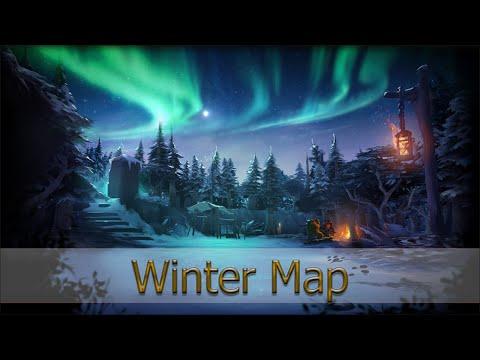Зимняя карта [Winter Map - Dota 2]