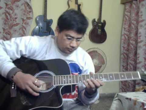 O hansani on Guitar