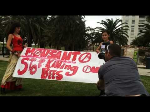 Herald photo shoot for March Against Monsanto