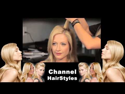 Hairstyle Tutorial TV Lift and Volume on Fine, Thin Hair InStyler Rotating Hot Iron