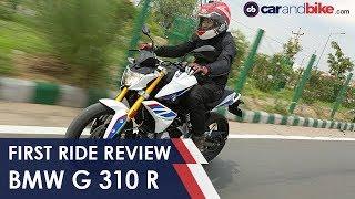 BMW G 310 R First Ride | NDTV carandbike