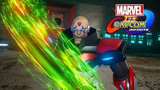 Marvel vs Capcom Infinite Sigma All Colors, Skins, Art, Theme, Voice Lines and Gameplay