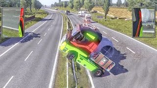 ETS2 Multiplayer - Idiots on Road #8 (Euro Truck Simulator 2 Multiplayer)