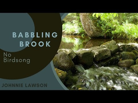 8 Hours Of Water Sounds For Relaxation And Meditation-relaxing Waterfall-w o Birdsong video