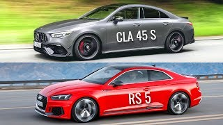 2020 Mercedes-AMG CLA 45 S vs Audi RS 5 Coupé