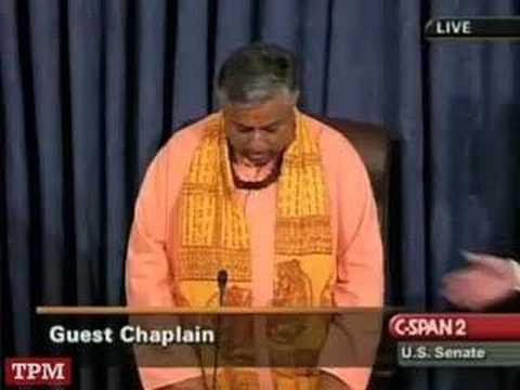 Christian extremists disrupt Hindu Senate invocation